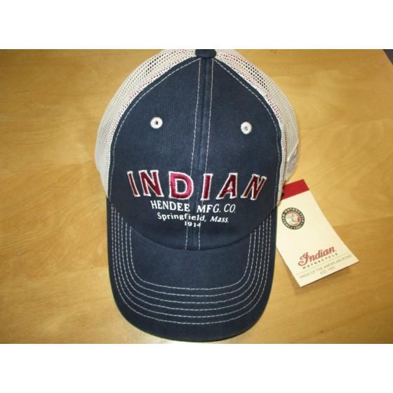 Indian Heritage Hendee Trucker Hat - Freedom Motorcycles aa028645555