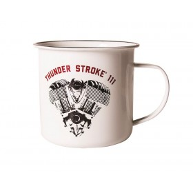 Indian Enamel Thunder Stroke Mug