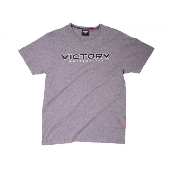 Men's Victory Logo T-Shirt Grey Marl