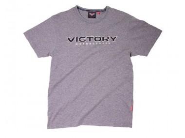 Men's Victory Logo T-Shirt Grey Marl
