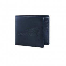 Indian Bi-Fold Black Leather Wallet