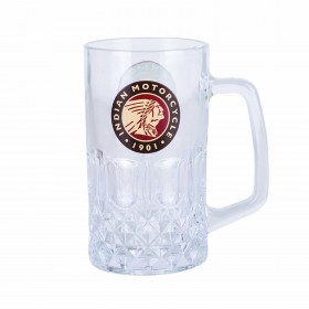 Indian Glass Beer Mug