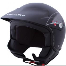 Victory Shortie Crash Helmet - open Face