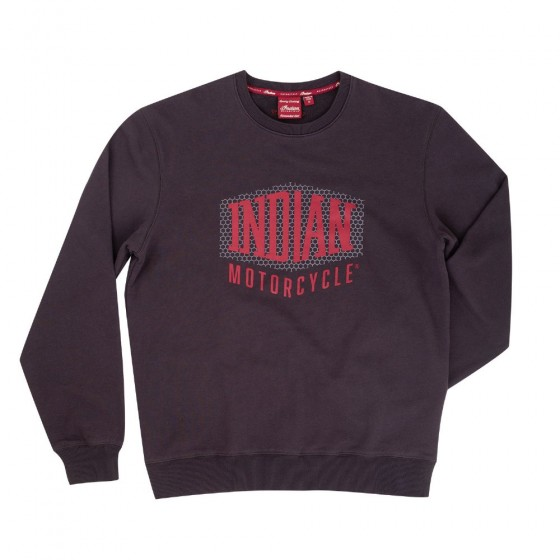 Men's Indian Shield Logo Sweat Shirt